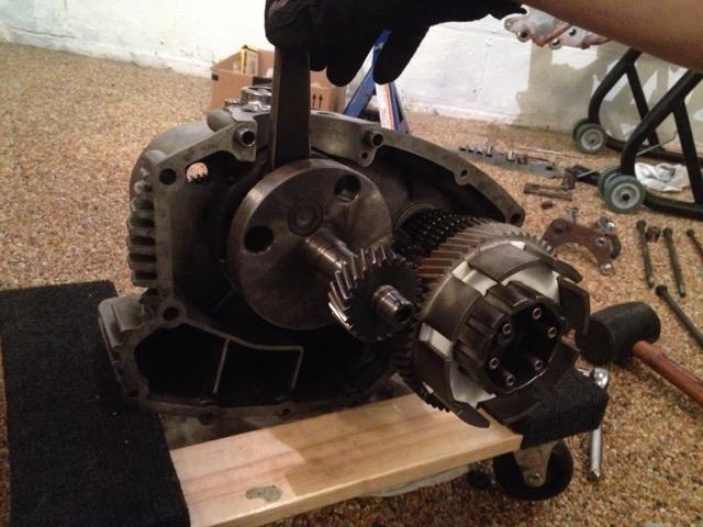 Crank, meet motor