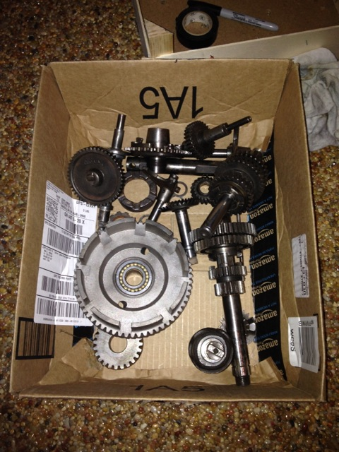 Complete 4-speed transmission